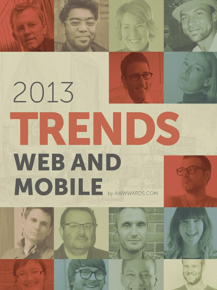 Trendy w projektowaniu stron internetowych i aplikacji mobilnych. Swoimi refleksjami dzielą się znani i szanowani web designerzy. Rzecz z 2013 roku, ale prognozy spełniają się trochę wolniej niż zakładano, więc wciąż aktualne :) Wydawcą tego ebooka jest serwis http://awwwards.com wyławiający z sieci najlepsze i najładniejsze strony internetowe.