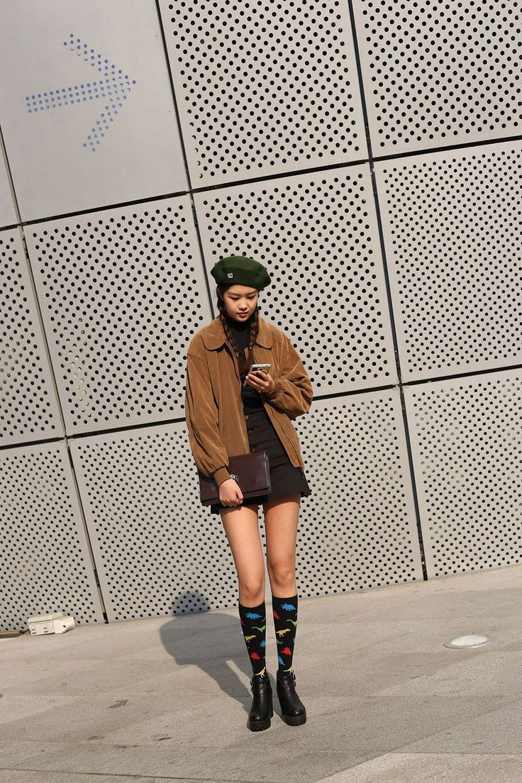 Let This Korean Street Style Be All The Spring Fashion Inspiration You Need #refinery29  http://www.refinery29.com/2016/03/107017/korean-fashion-seoul-street-style-photos#slide-33  When Moonrise Kingdom meets South Korea....