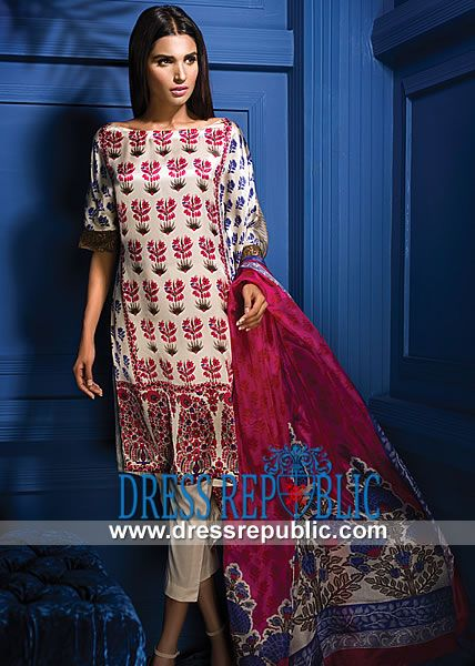 17 best designer pakistani suits images on Pinterest | Pakistani ...