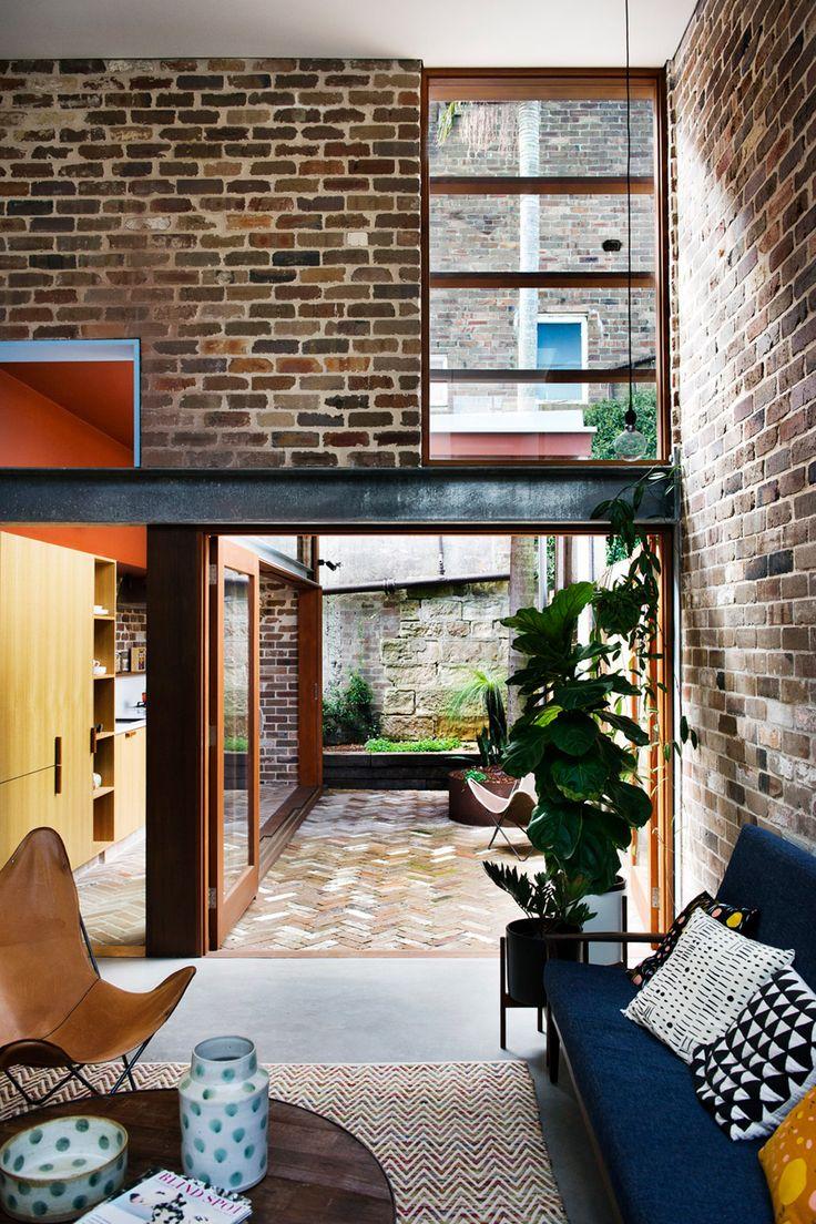 by David Boyle,Sydney AU, reclaimed brick