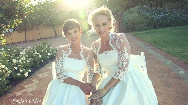 White doves and matching dresses! The wedding video highlights of Candice & Sharon