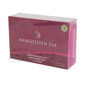 Jual Mangosteen Tea Ekstrak kulit manggis, teh hitam, polifenol