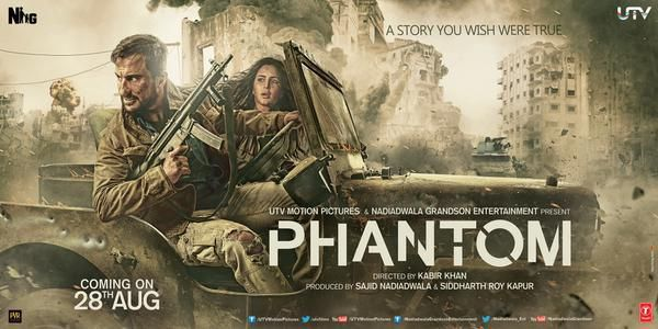 Phantom 2nd Day Saturday Box Office Collection