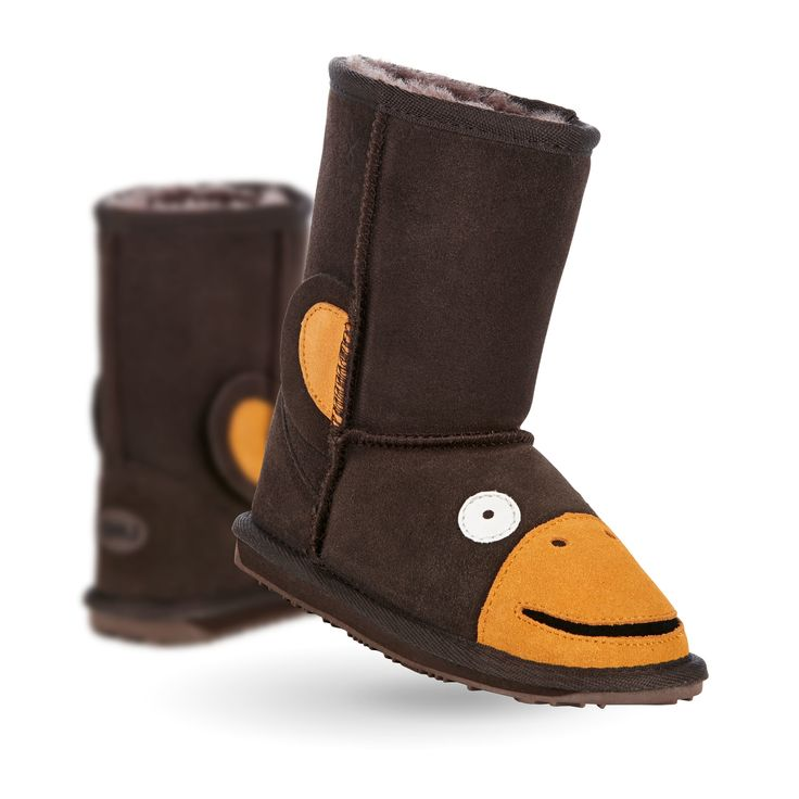 Monkey Kids Deluxe Wool Boot- EMU Australia