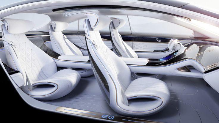 Mercedes-Benz Vision EQS Concept Drive