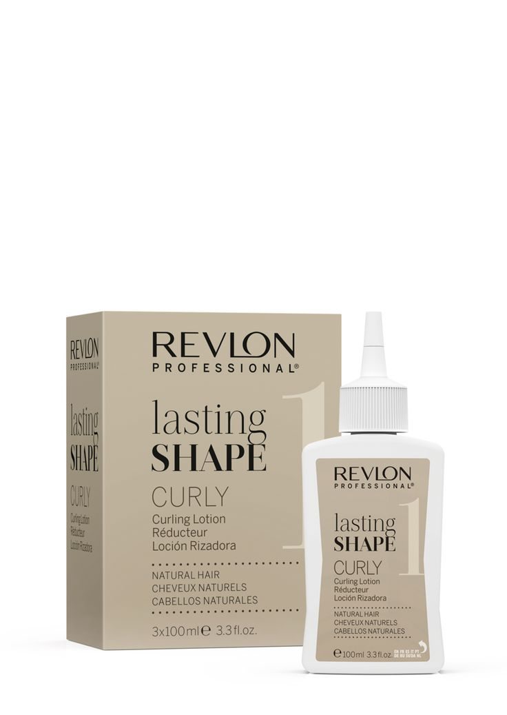 Revlon Professional lasting Shape Curly Curling Lotion Natural Hair 3x100ml.