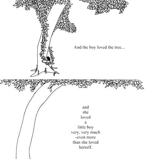 The giving tree...I used to read this to my daughter