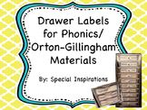 Phonics/Orton-Gillingham Labels
