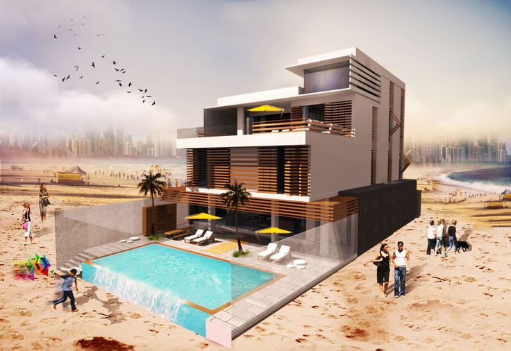 ARK - KASSAM | Architectural & Engineering Consultations | Projects | Chalet in Kuwait