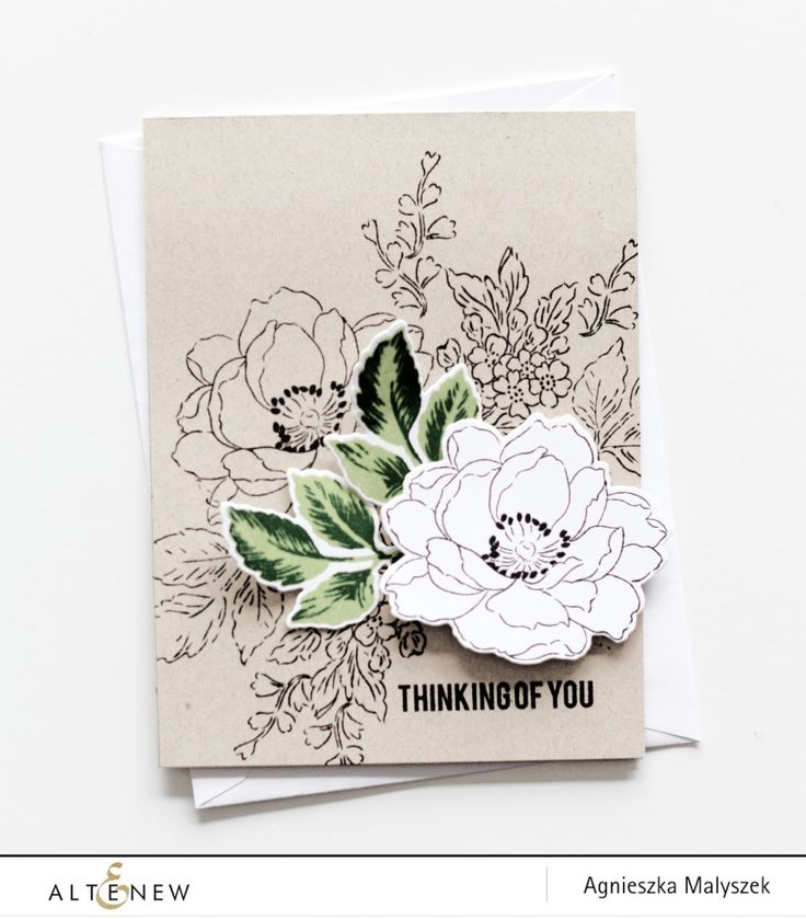 Hello Everyone! Aga here to share a quick and easy card using Beautiful Day set. My favourite card style is clean and simple with lots of white space but sometimes, I love to challenge myself in doing