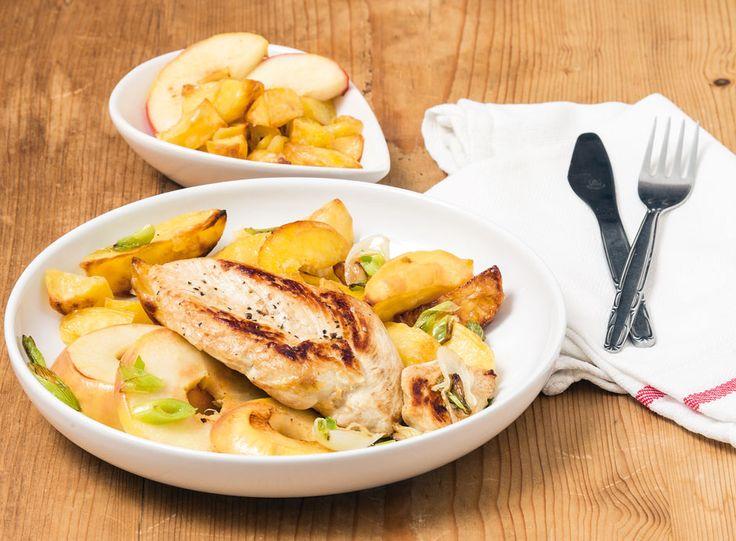 Egy finom Csirkemellfilé balzsamos almával ebédre vagy vacsorára? Csirkemellfilé balzsamos almával Receptek a Mindmegette.hu Recept gyűjteményében!