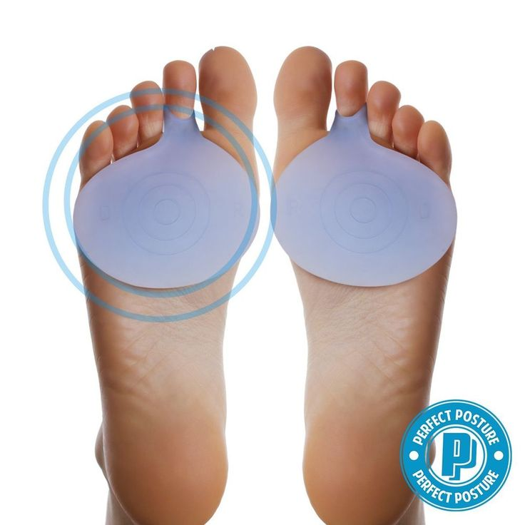 2 pcs Metatarsal Pads Ball of Foot Cushions Rapid Foot Pain Relief CoolTec Gel #PERFECTPOSTURE