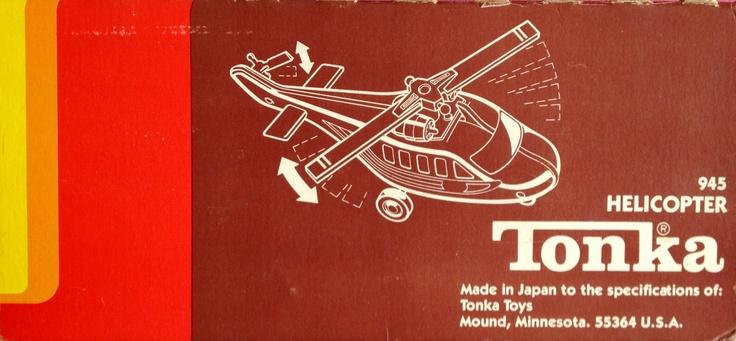 1978 Tonka helicopter