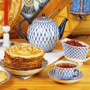 Russian tea party. Russian has some of the best bee ans fresh flower Honey around.