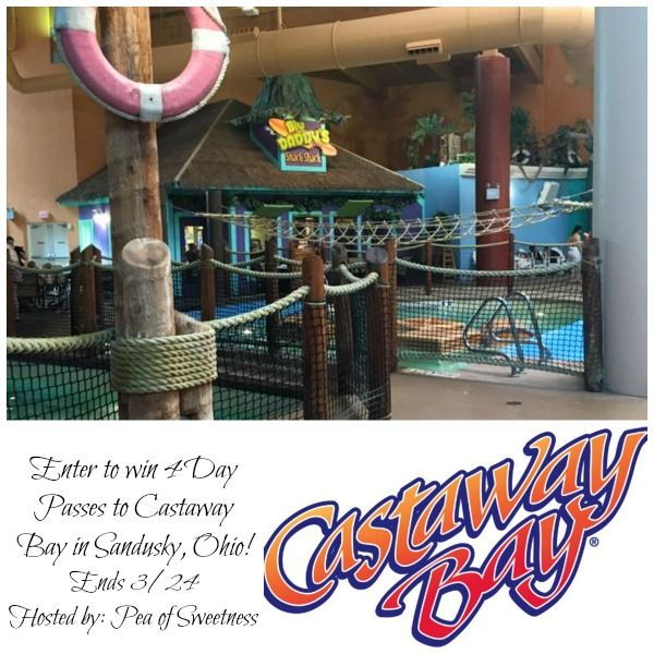 Spend the Day at Castaway Bay Giveaway - win 4 Day Passes! (ends 3/24)