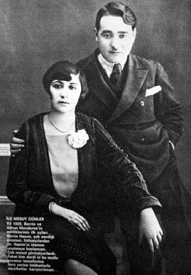 Berin Menderes & Adnan Menderes 1929