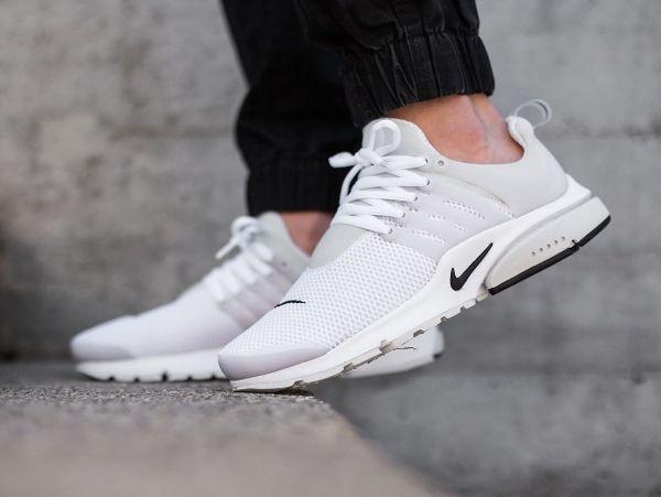 Nike Air Presto White And Black