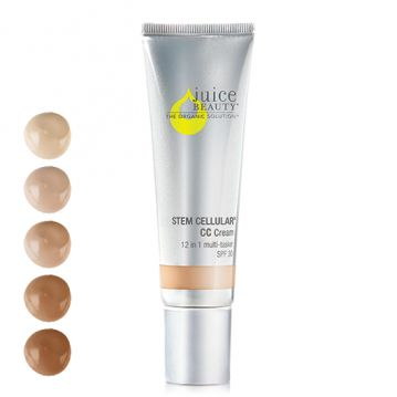 This is a STAPLE for me!perfect for everyday :) Creates a radiant, glowing complexion with the Juice Beauty STEM CELLULAR CC Cream. Available in 5 shades to match and enhance any skin type and color.