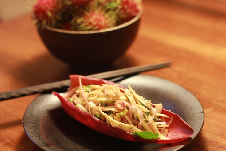 Vietnamese Banana Flower Salad