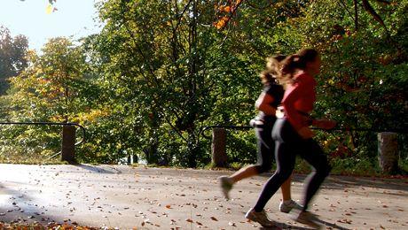 styrketräningen för löpare