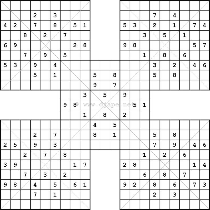 samuri sudoku