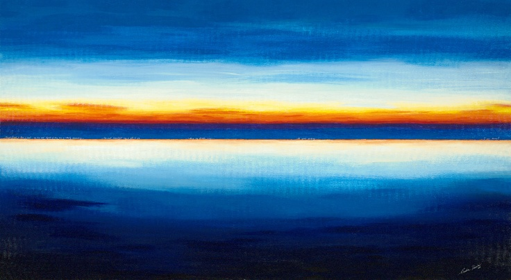 The Sunset  by Caroline Rovithi  http://artexpostudio.com/artwork/the-sunset-by-caroline-rovithi