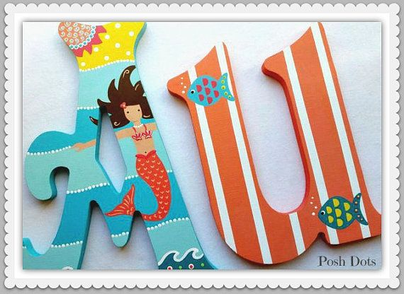 Personalized Wall Sign. Custom Painted  Wooden Wall by PoshDots