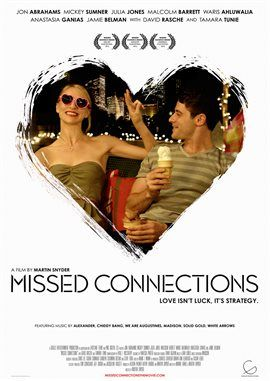 Missed Connections / Jon Abrahams | Check out for free online with your Mesa Public Library card.