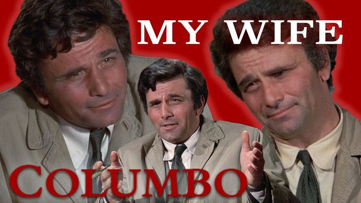 "All Of Columbo's Wife's ""Appearances"" Season 1-3 