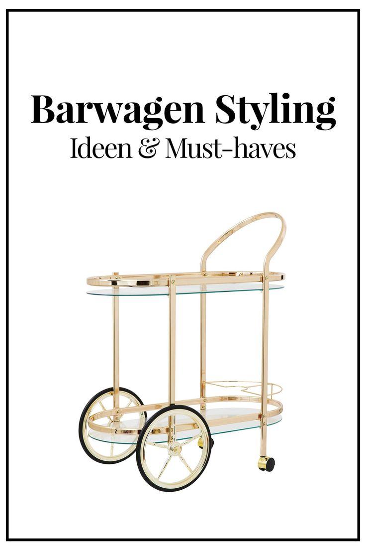 Barwagen und Servierwagen Styling Ideen, Einrichtungsideen, Must-haves Barwagen, Deko Tipps, Interior Blog, Magazin, Style Blog, www.whoismocca.com