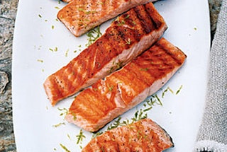 grilled salmon with lime butter sauce: Butter Sauce, Grilled Salmon, Food, Sauce Recipe, Limes, Salmon Recipe, Prepare Salmon