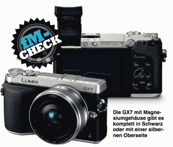 Le Panasonic Lumix GX7 se confirme