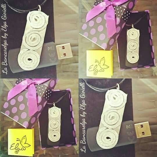 "Ciondolo pen drive 8gb in alluminio martellato a mano  Visita la pagina Facebook ""La Bancarelga by Elga Gioielli"" Remember to like on my Facebook page ""La Bancarelga by Elga Gioielli""  https://www.facebook.com/LaBancarelga/  #gioielli #jewels #fattoamanoinitalia #fashion #handmade #madeinitaly #artigianato #madewithlove #madewithlove #fashion #pezziunici #pezziunicirealizzatiamano #pendrive #gift #alluminio #aluminium #martellatoamano"