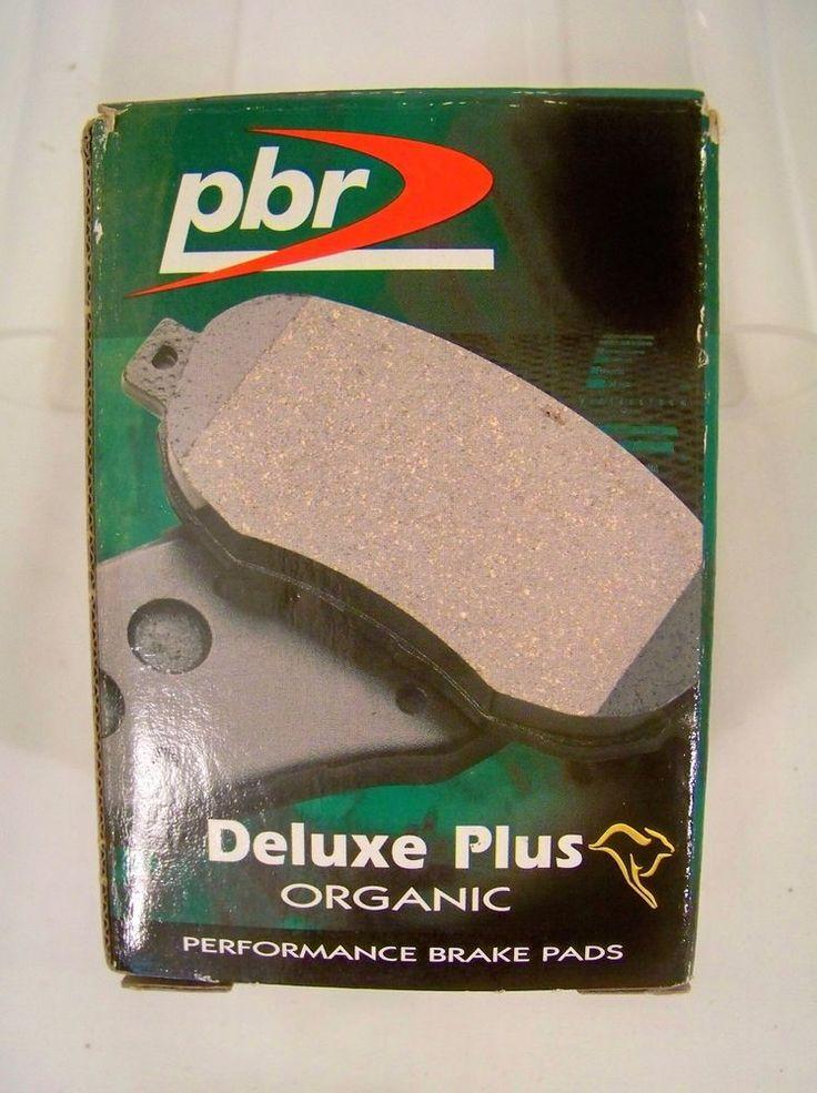 PBR Deluxe Plus Organic Performance Brake Pads D3067R New  Volvo 85-91 760 & 780 #PBR