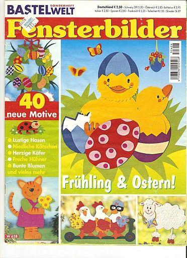 Fensterbilder - Frühling & Ostern! - Comatus Coprinus - Picasa Webalbumok
