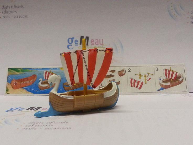 Kinder 1997 Jouet Asterix Et Les Indiens Amerika Magnet Totem Bateaux Tipi | eBay