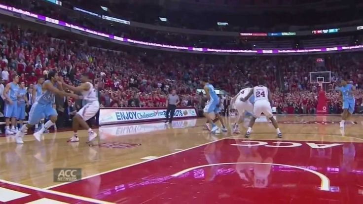 UNC Men's Basketball: Marcus Paige's Game-Winning Layup vs. N.C. State. Woo, scared me there for a minute!