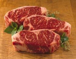 USDA Prime Kansas City Strip Steaks