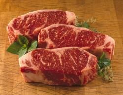 USDA Prime Kansas City Strip Steaks