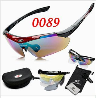 Professional Polarized Cycling Glasses Bike Goggles Outdoor Sports Bicycle Sunglasses With 5 Lens Myopia Frame