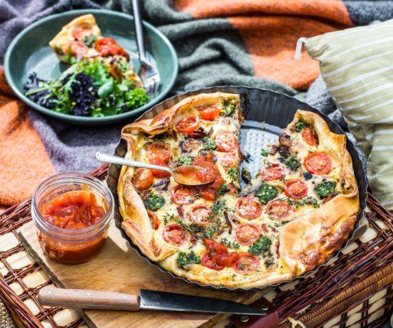 Breakfast pie by Nadia Lim | NadiaLim.com