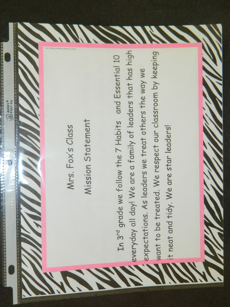 Elementary Classroom Setup Ideas ~ Images about classroom mission statements on