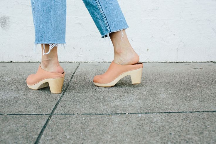 Tomato red, curry yellow and blush pink . . . Bryr's latest colors, though a departure from their flawless neutral palette, are delightfully on point! With a fresh crossover and slide style, stocking up on Bryr's made to order, buttery soft clogs is a must - especially since we're finally