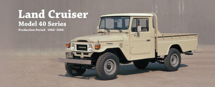 Toyota Global Site | Land Cruiser | Model 40 Series_01