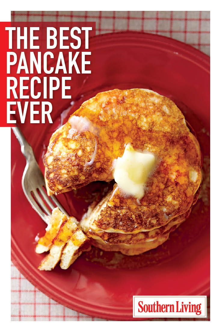 Pancakes are a delicious way to start the day, and this recipe for Southern pancakes will have you making that short stack a tall one with our best pancake recipe ever. You'll wonder how you ever woke up to any other breakfast.
