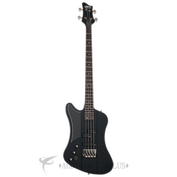 Schecter Sixx Bass Left Handed Rosewood Fretboard Bass Guitar Satin Black - 211 - 81544705859