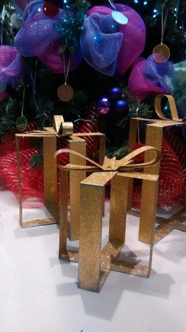 Regalos para decoración de navidad. #DIY #regalo #navidad