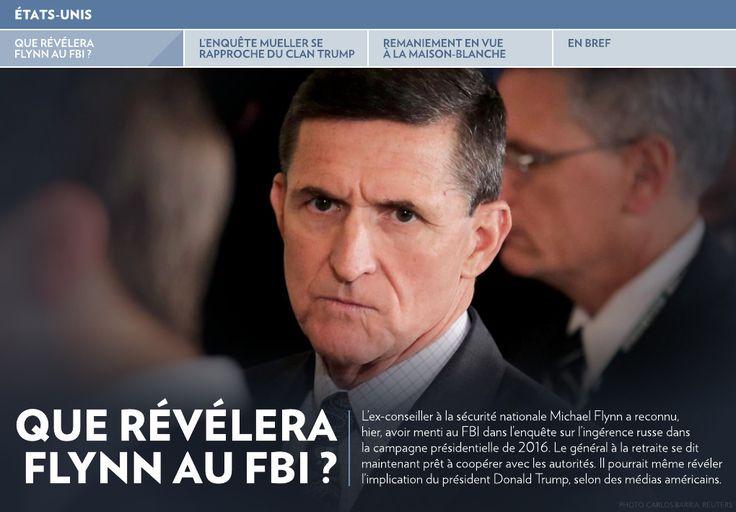 Que révélera Flynn au FBI ? - La Presse+