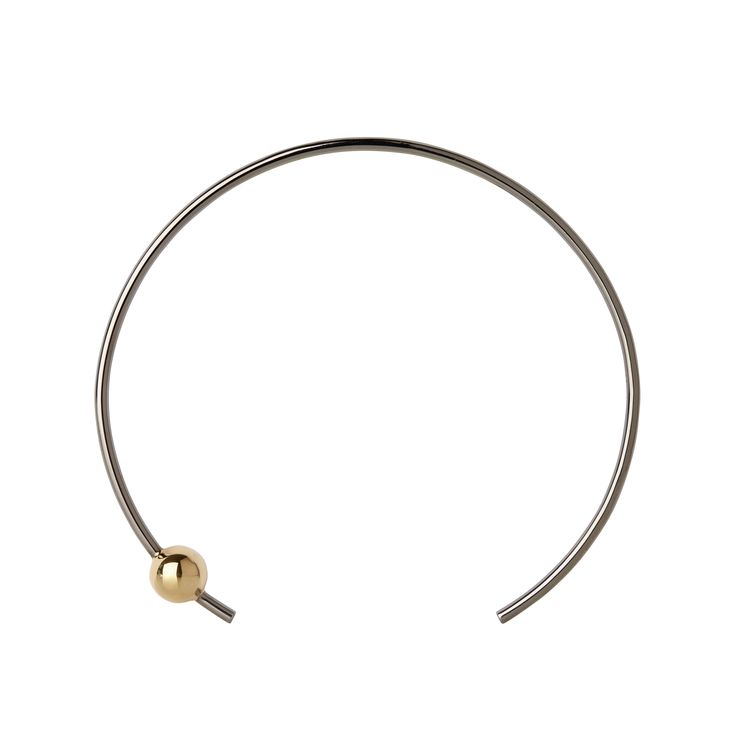 Black/Gold Orion Choker from Maria Black