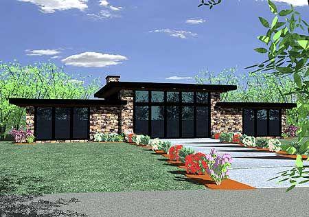 Plan 85021ms Contemporary Getaway Home Plan Home Design
